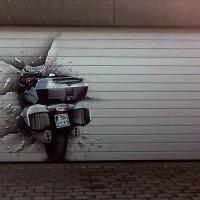 bmw garage spray paint